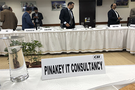 Read more about the article CII invited Pinakey to represent Indian IT Company in a Meeting with African Delegates.